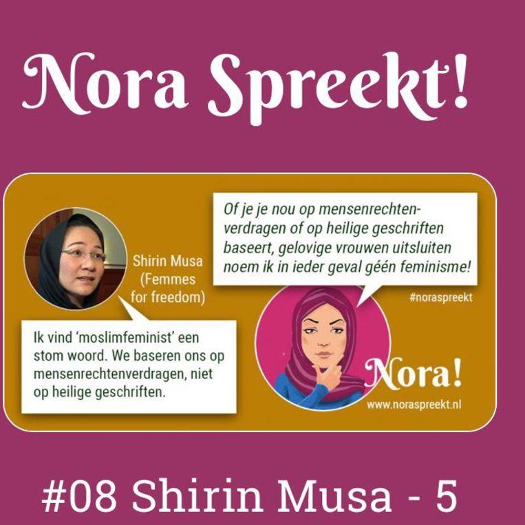 Nora over Shirin Musa Beeld