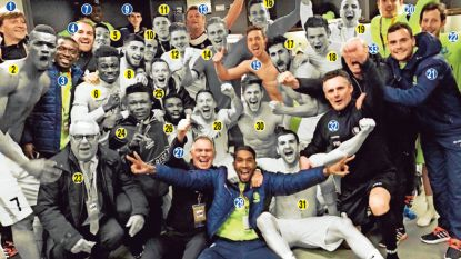 Twee jaar na de Gentse stunt op Wembley waren ze nog met 14