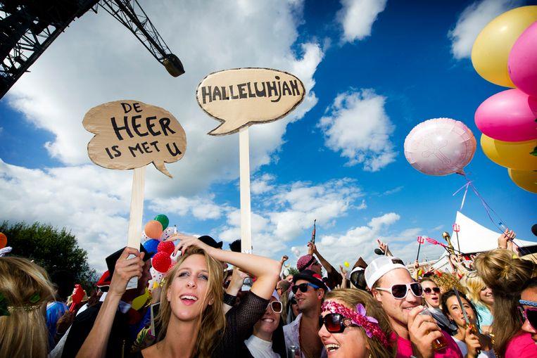 Bezoekers op het festival Valitifest. (ANP) Beeld Capital Photos  Frank van Beek