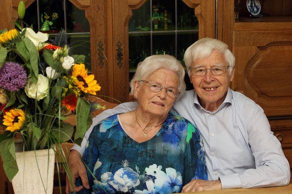 José Verstrepen en Herman Cambré vieren hun diamanten huwelijksjubileum