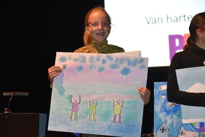1e prijs voor Flore van Diesen uit Best.