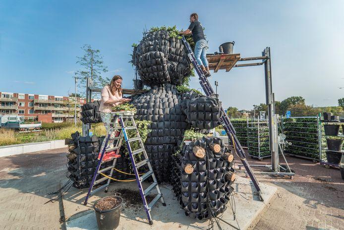 Adriënne Rombout bouwt op.