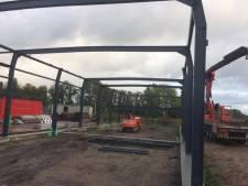 Bouw begonnen: Corsobuurtschappen Veldstraat en 't Stuk duiken samen de tent in