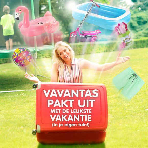 Vavantas pakt uit met de leukste vakantie (in je eigen tuin).