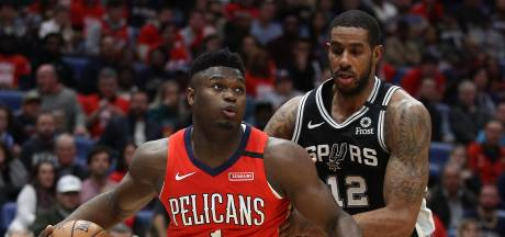 Spectaculair debuut 19-jarige Williamson in NBA