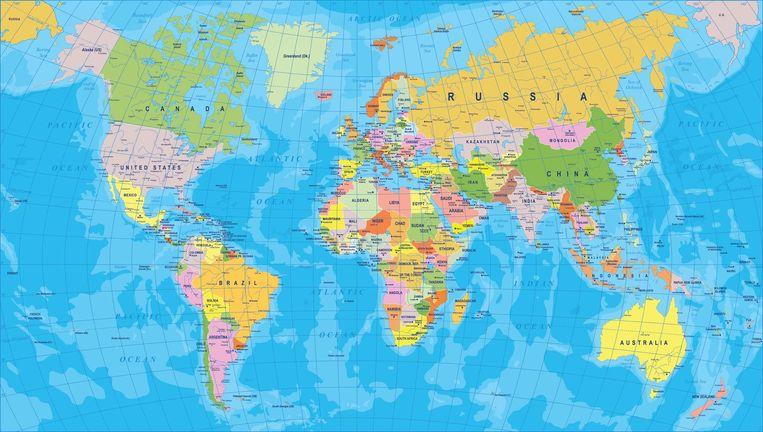 werled kaart Nieuw Zeeland eist plaats op wereldkaart op | Het leukste van het