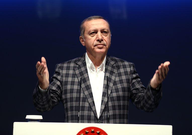 Turks president Recep Tayyip Erdogan.