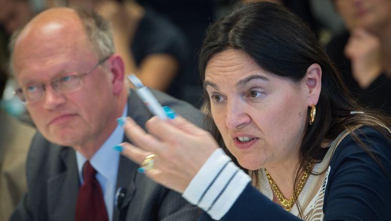 Minister van Energie Marie-Christine Marghem (MR).