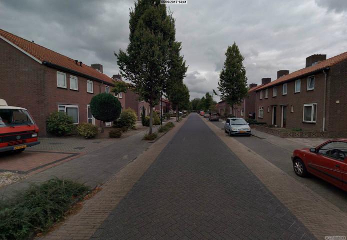 De Baverdestraat in Lieshout.