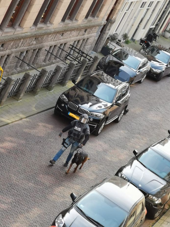 Politieactie in centrum Deventer