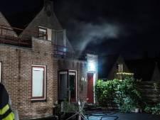 Brand in woning in binnenstad van Amersfoort