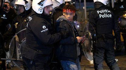 Juridische schemerzone: politie neemt foto's om Brusselse relschoppers te identificeren