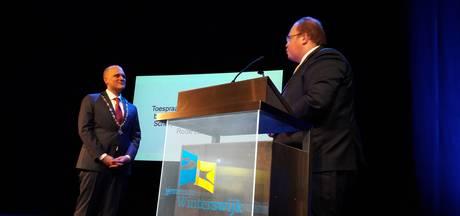 Joris Bengevoord met rode lantaarn nieuwe burgemeester van Winterswijk
