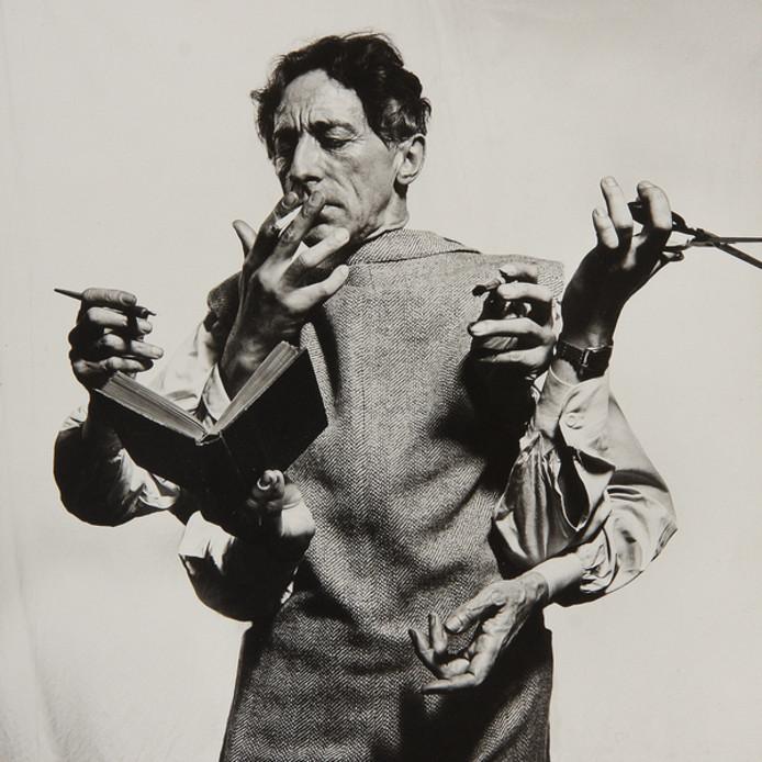 Philippe Halsman, Jean Cocteau, 1949.