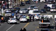 Wagen rijdt in op politiewagen aan Capitool