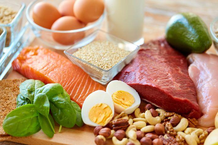 waar zitten proteïnen in