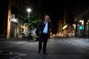 Michel Platini na zijn vrijlating.