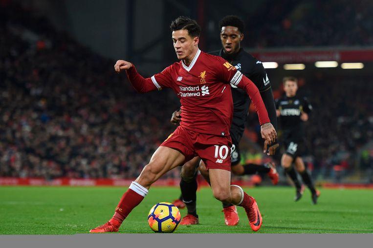 Coutinho wervelde dit seizoen opnieuw voor Liverpool.