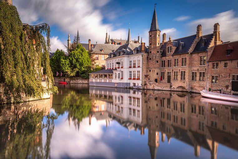 De Rozenhoedkaai in Brugge.