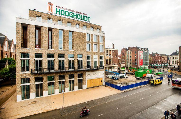 Vindicat aan de Grote Markt in Groningen. Beeld anp