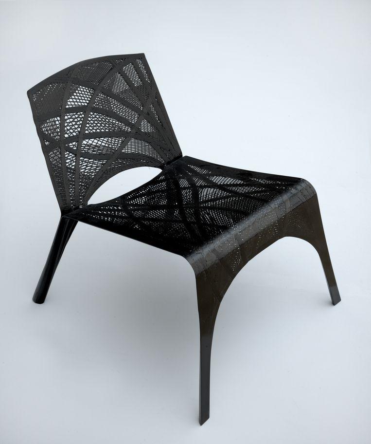 Marleen Kaptein, Fibre Placement Chair 2014 Beeld Stedelijk Museum