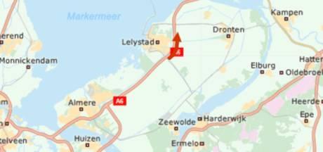 A6 weer vrijgegeven na ongeval bij Lelystad