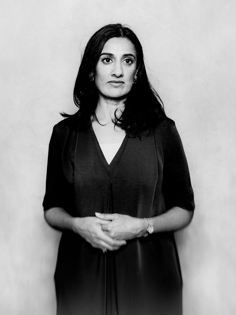 Naema Tahir: 'Het systeem van gearrangeerde huwelijken gaat uit van de wijsheid van ouderen.' Beeld Jitske Schols