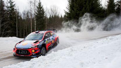 Thierry Neuville wint eerste proef in Rally van Zweden