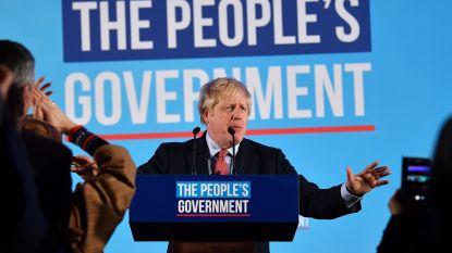 """LIVE. Historische overwinning voor Conservatieve partij van Boris Johnson: """"Jullie stem is gehoord, de brexit komt er"""""""