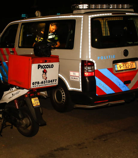Pizzakoerier overvallen in Dordrecht