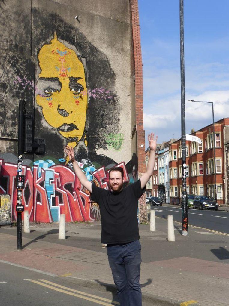 Enthousiaste skateborder in Bristol Beeld Zoë de Goede