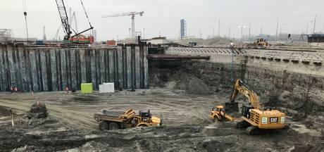 Gemiddeld woonhuis kan in bouwput sluishoofd Nieuwe Sluis 'verdwalen'