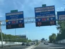 Aanpassingen knooppunt Kleinpolderplein vanwege verdwalende automobilisten en vele ongelukken