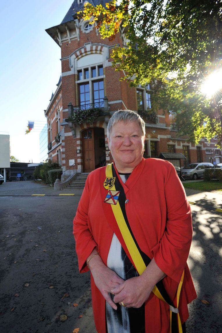 Marleen Mertens zetelt nog een jaar in het Grimbergs gemeentehuis.