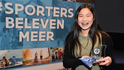 Dubbel Belgisch kampioen schoonspringen en wereldtop tumbling: jaarlijkse sporttrofeeën Mortsel uitgedeeld