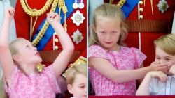 VIDEO: Royal kids stelen de show op verjaardag van Queen
