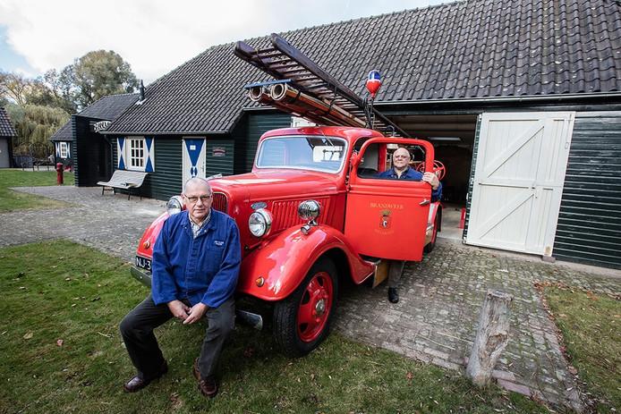 Vrijwilligers van het Jan Visser museum hebben de brandweerwagen gerestaureerd