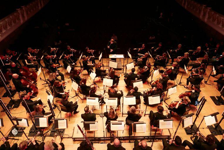 Het English Session Orchestra brengt de voor het eerst vervolledigde achtste symfonie van Schubert in de Londense Cadogan Hall.