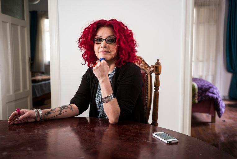 Mona Eltahawy: 'Ik geloof niet dat De Balie een plek is waar ik mijn ideeën wil delen.' Beeld Getty Images