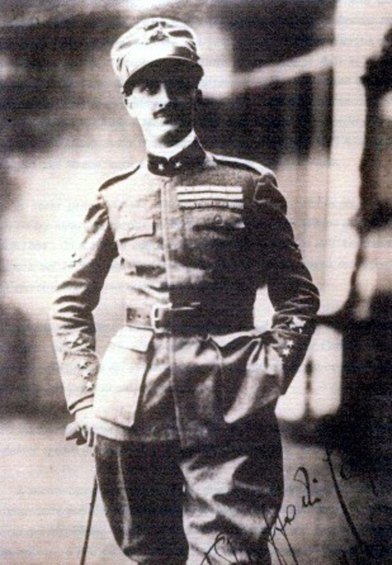 Fulco Ruffo di Calabria, de vader van koningin Paola.