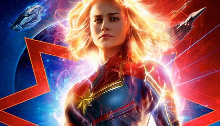 'Captain Marvel' staat op de vierde plaats van het wereldwijde box office in 2019.