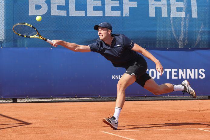 28-07-2020: Tennis: NK Tennis: Amstelveen  L-R: Botic van de Zandschulp