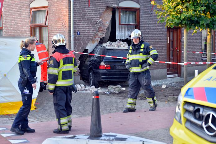 September vorig jaar reed een auto een huis in Luyksgestel binnen, precies op de plaats waar bewoner Harrie van der Heijden lag te slapen