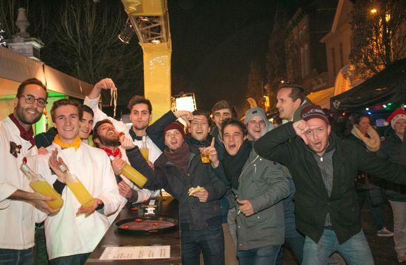 De kerstmarkt van Belsele, één van de grootste in de hele regio, waar jong én oud vertier vindt.