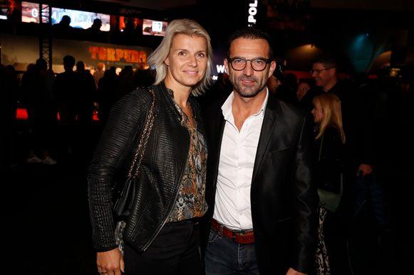 Charlotte Nollet en partner Gunther Levi