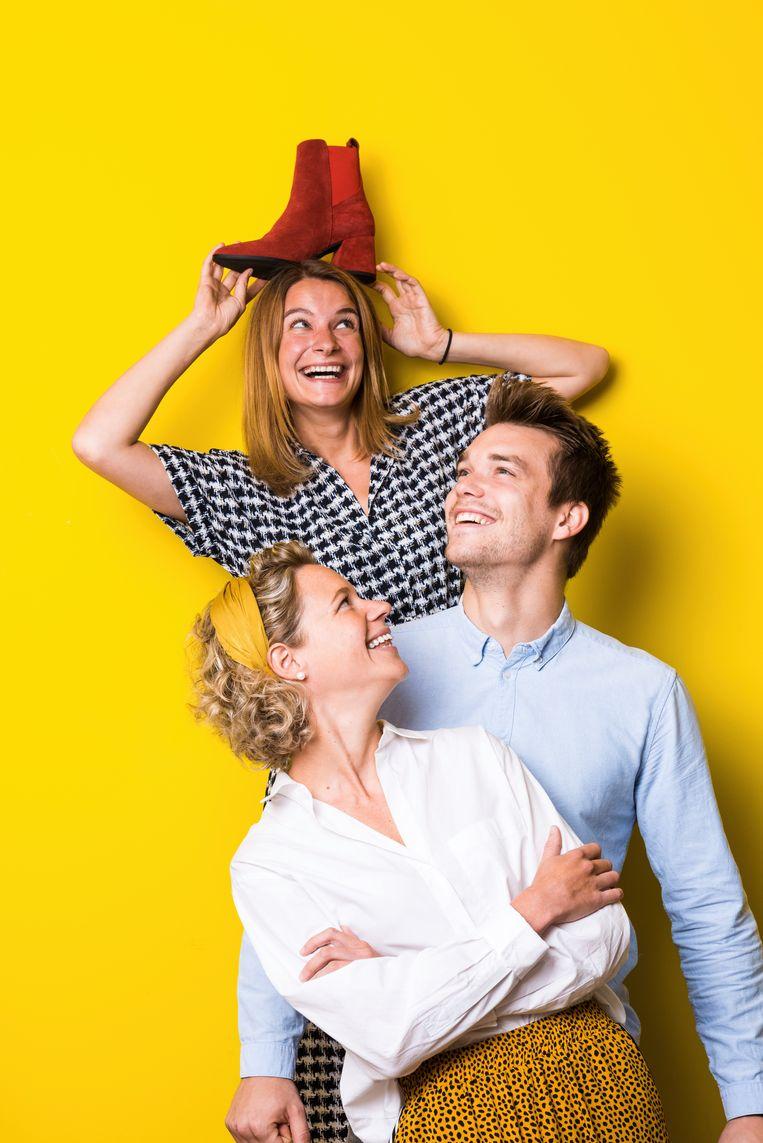 Eva, Alexander en Lise Torfs