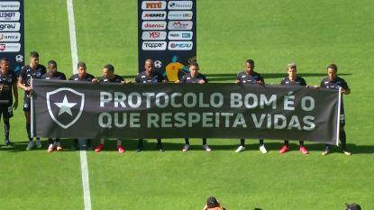 Protesten bij herstart Braziliaanse voetbalcompetitie