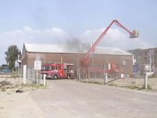 Vishandel Van den Berg dicht na brand
