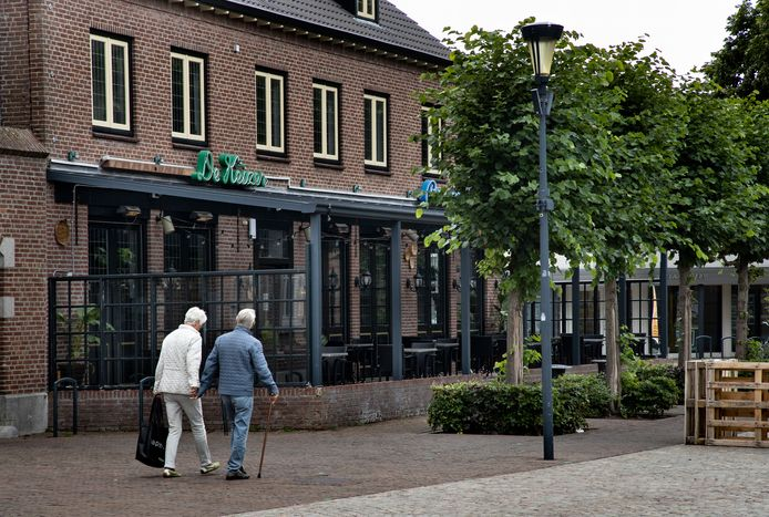 Grand café de Keizer in Gemert is gesloten.