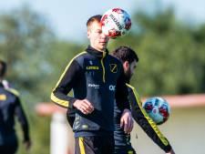 NAC-captain Verschueren: 'Ik ben geen rechtsback, ik ben een middenvelder'
